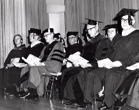 Commencement Platform Party (c. late 1960s-early 1970s)