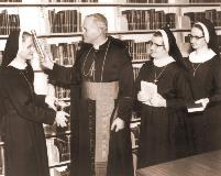 Pope John Paul - Library Blessing 1969