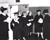 Sisters at Commencement
