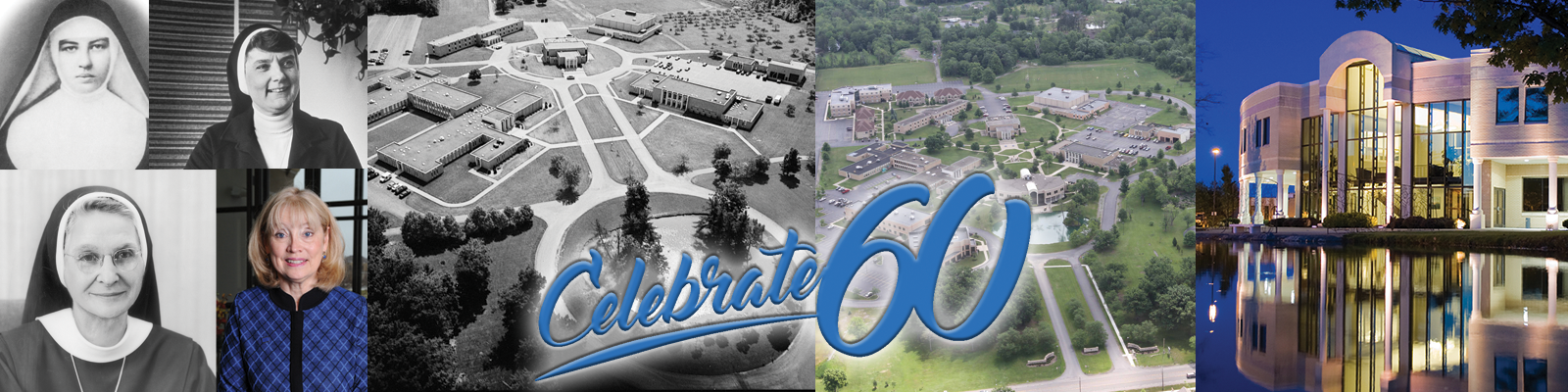 Celebrate 60 collage of photos