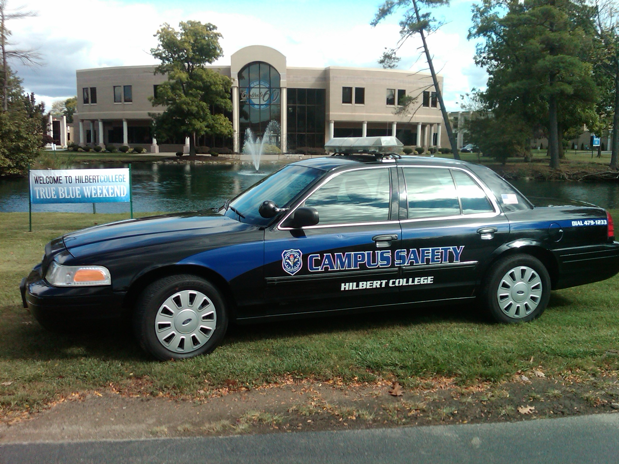 Campus Safety vehicle
