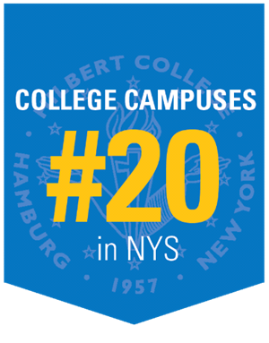 College Campus ranked #20 in New York