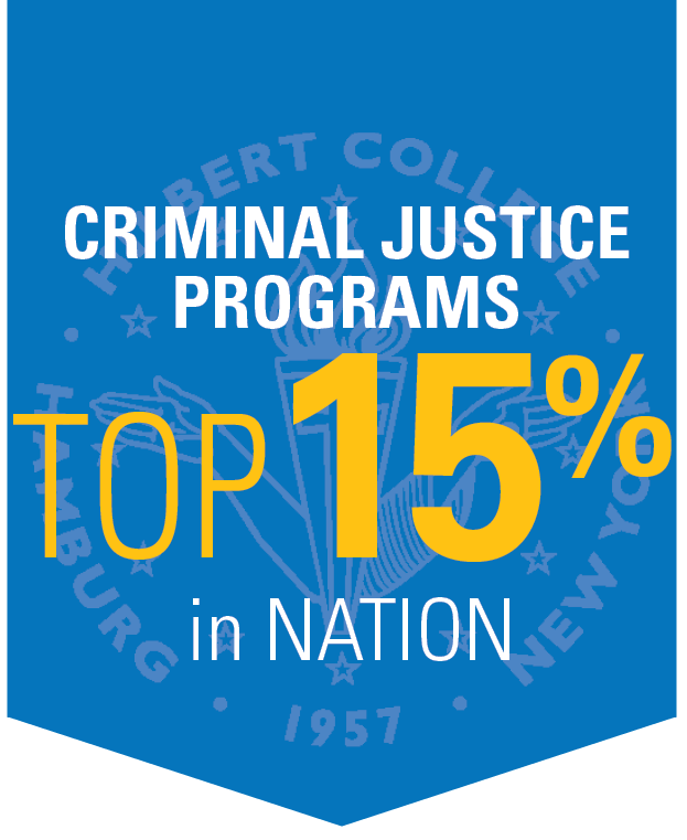 Criminal Justice Program ranked in Top 11% in the Nation
