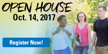 Open House on October 14 - register now