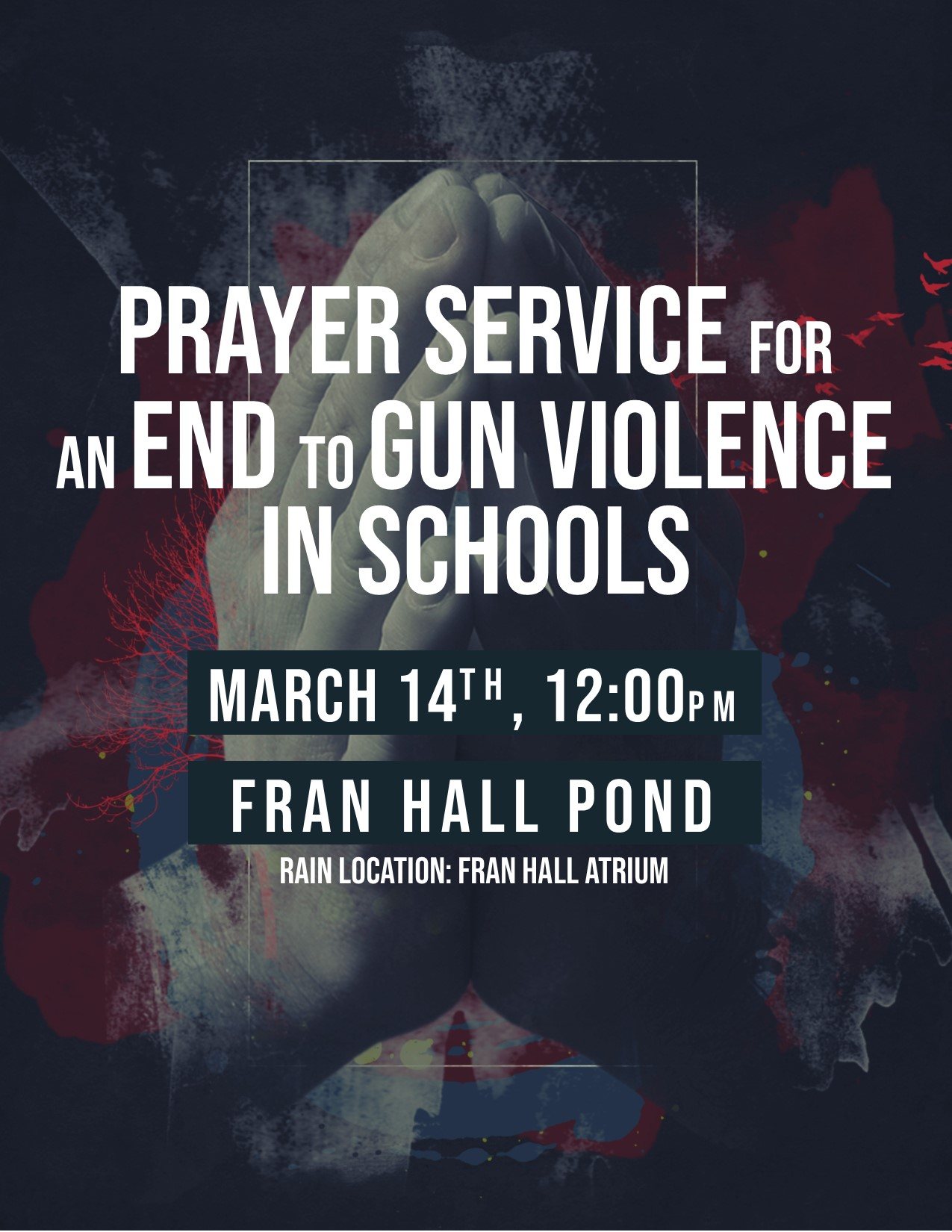 Prayer Service for an End to Gun Violence in Schools