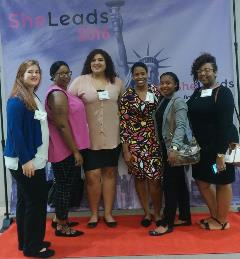 Students and staff attending the SheLeads Conference fall 2016