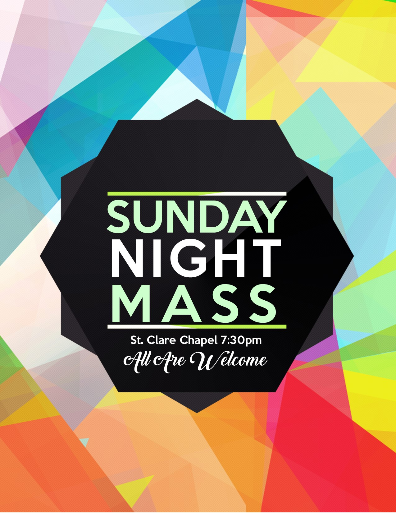 Sunday Night Mass