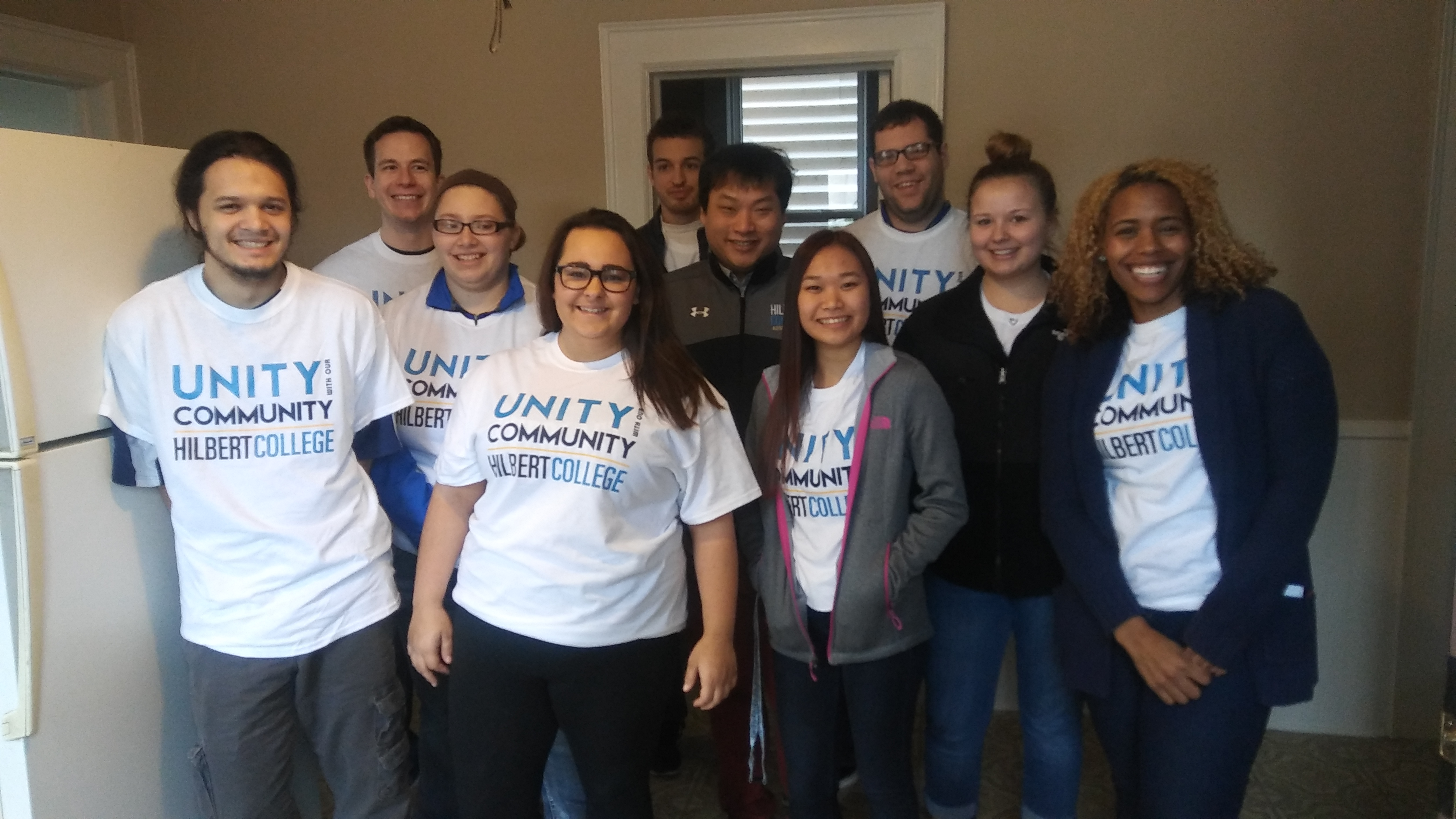 Unity With Our Community Hilbert Students