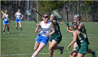 women's lacrosse player